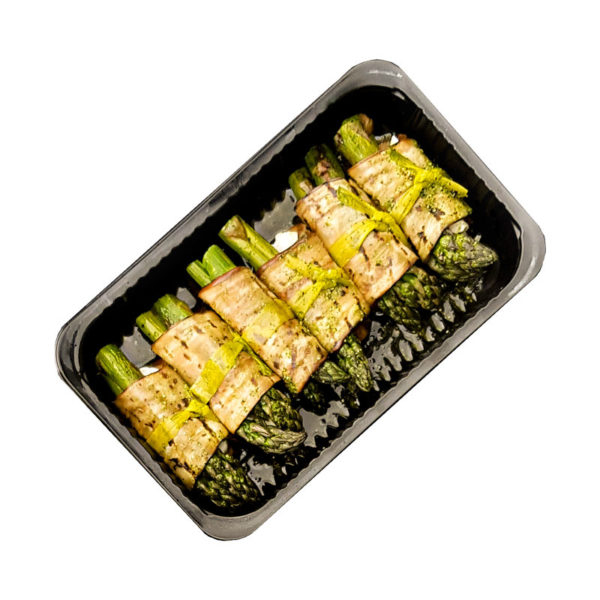 roladki z baklazana ze szparagami i halloumi