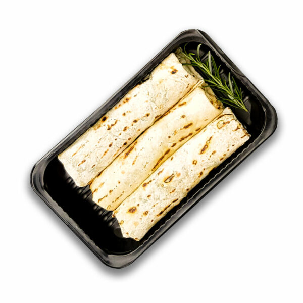 spring rolls ze szpinakiem i boczniakiami 1